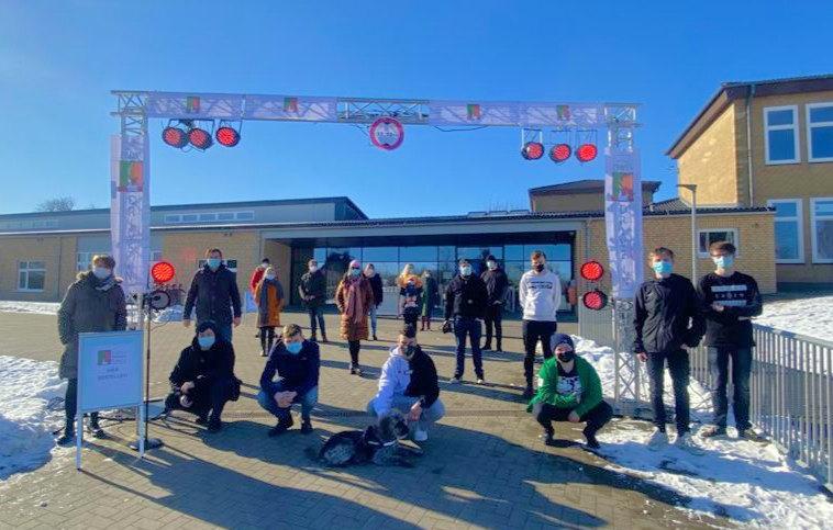 Technikteam der Eider-Nordsee-Schule Hennstedt